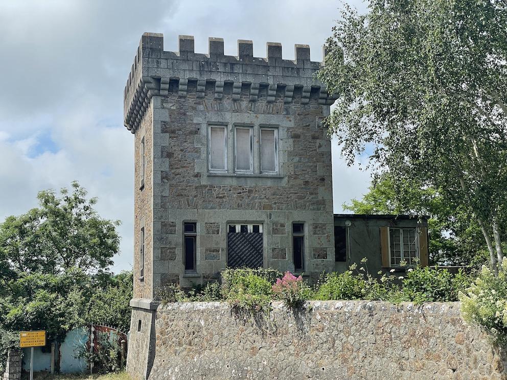 Une tour à St Brieuc