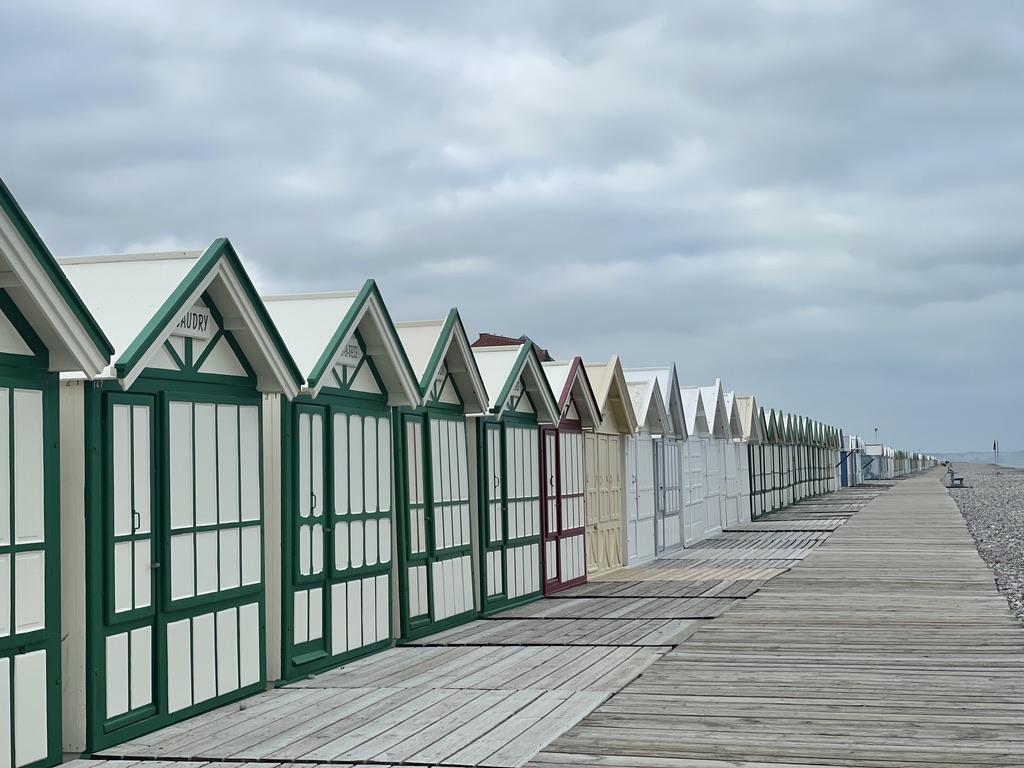 Et toujours les cabanes de plage