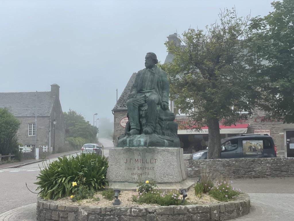 Statue de Jean-François Millet
