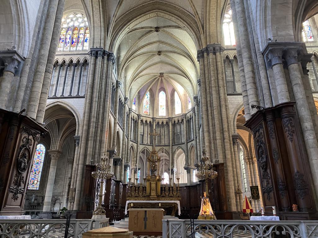 Intétieur cathédrale de St Omer
