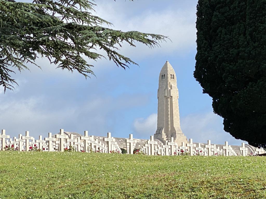 Ossuaire de Duaumont près de Verdun