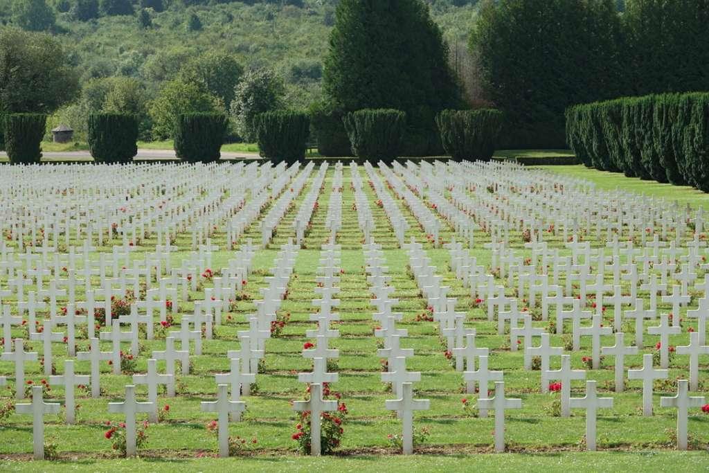 Tombe de Soldats Français à l'ossuaire Duaumont