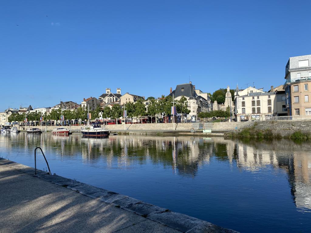 Verdun et son port