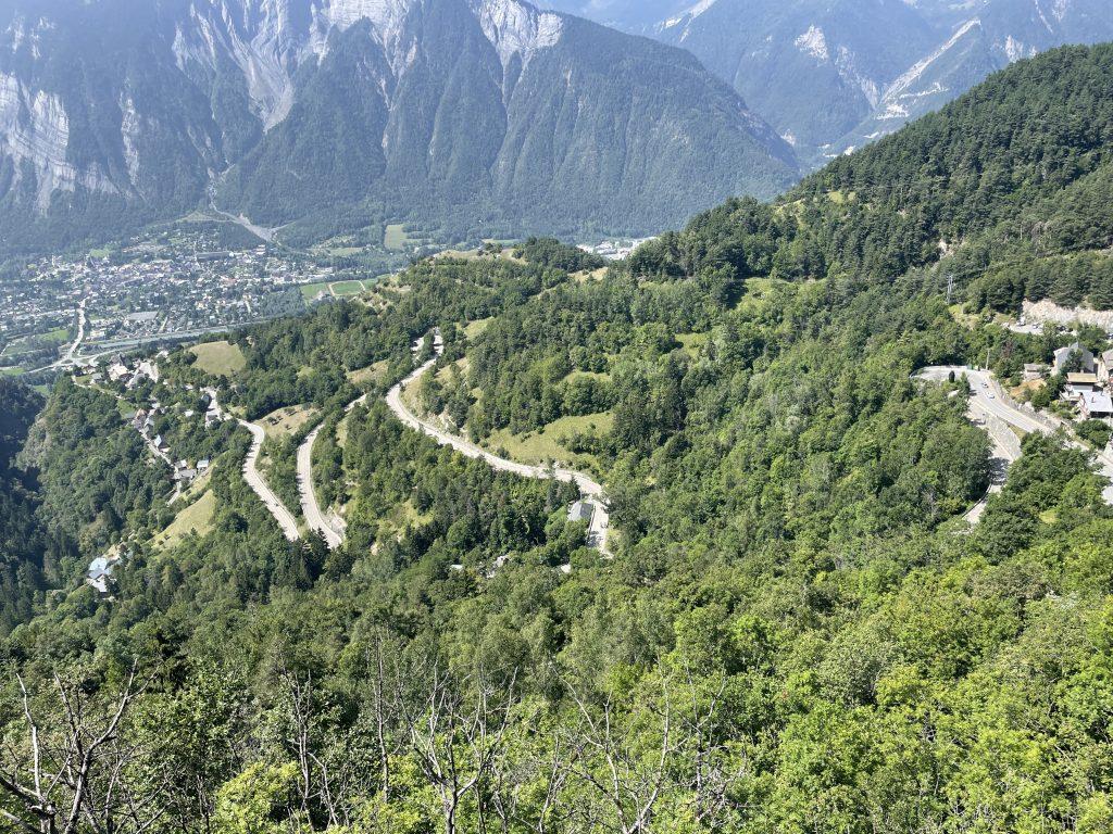 Alpe d'Huez sous un autre angle