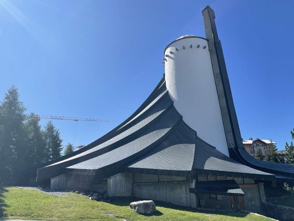 Eglise original de l'Alpe d'Huez