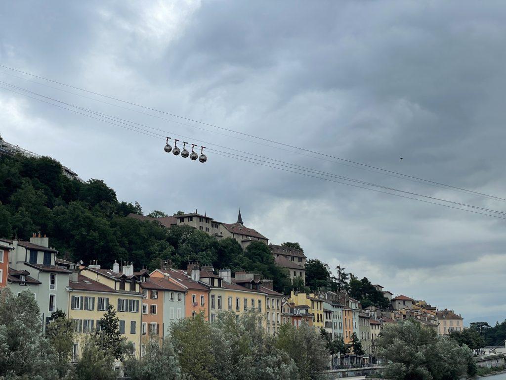 Grenoble et ses cabines