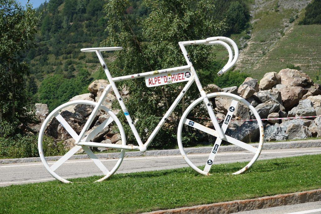 Un vélo de géant