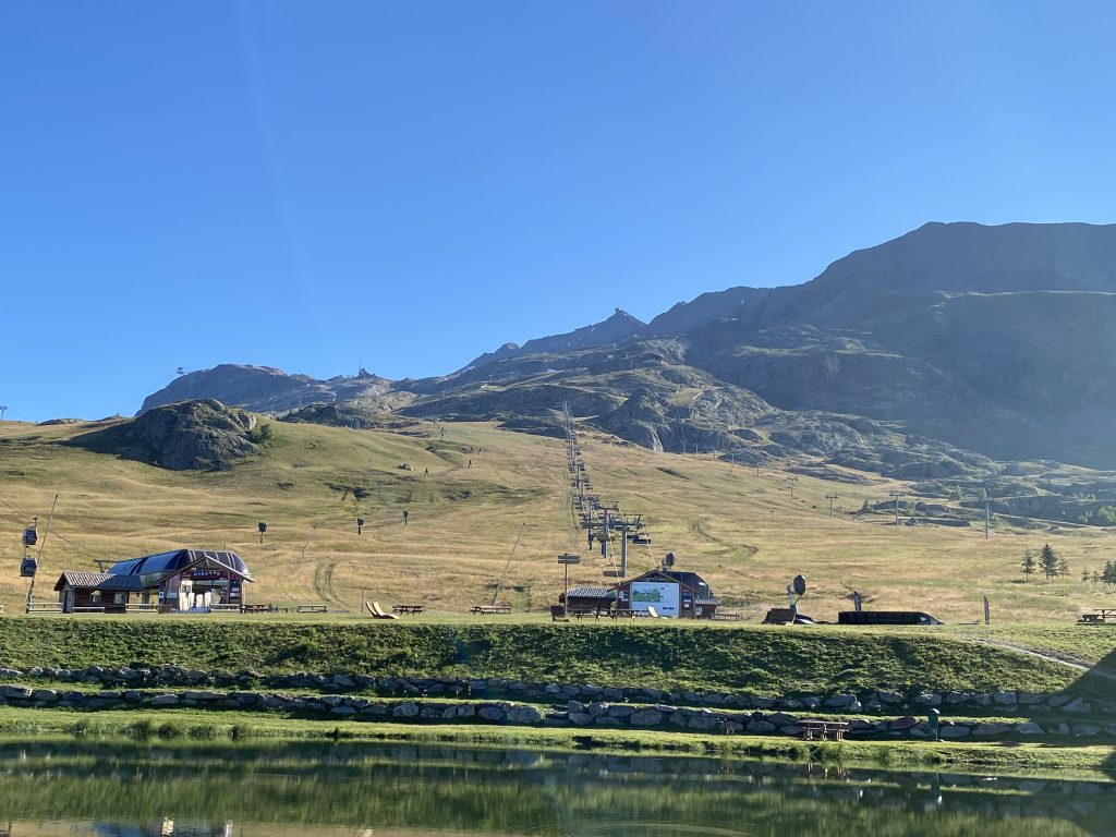 l'Alpe d'Huez station en été