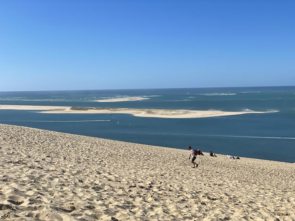 Banc de sable dune du Pilat