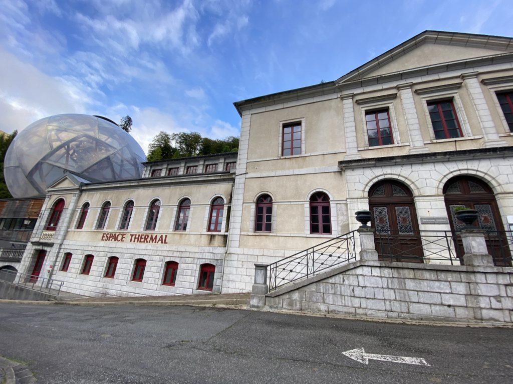 Une bulle à Eaux-Bonnes espace thermal