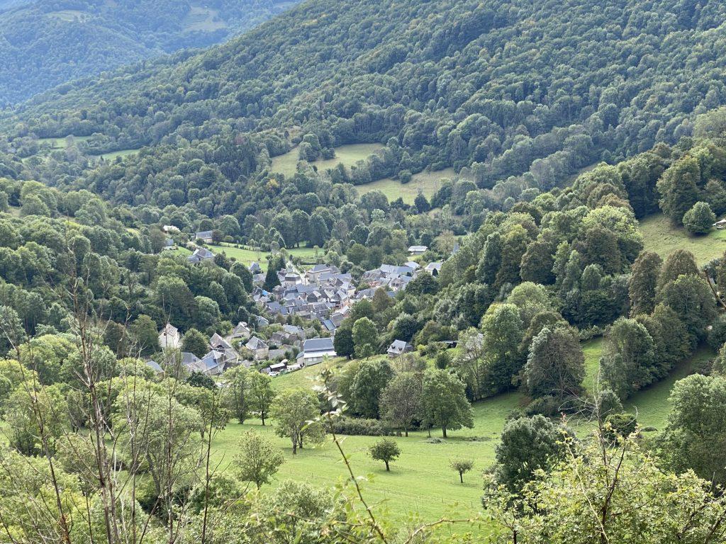 Village au coeur de la montagne